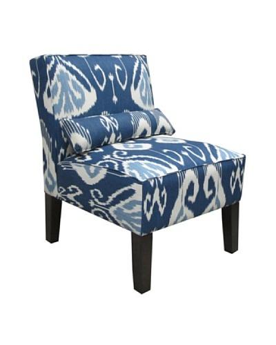 Skyline Armless Chair, Iris