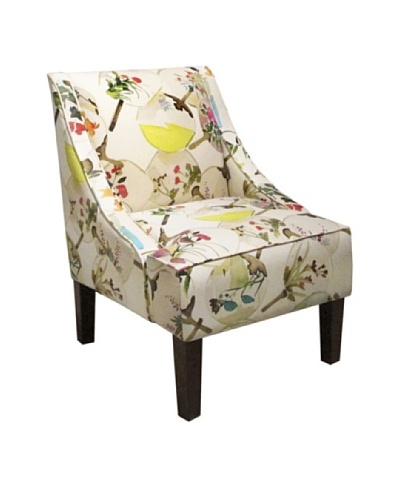 Skyline Swoop Arm Chair, Mia Multi