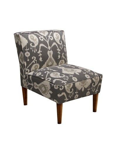 Skyline Armless Chair, Java Pewter