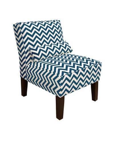 Skyline Armless Chair, Titan Birch