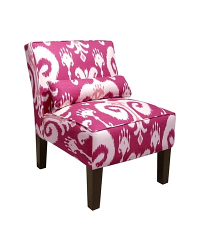 Skyline Armless Chair, Himalaya Raspberry