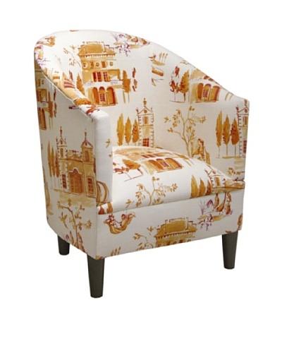 Skyline Tub Chair, Villa Tangerine