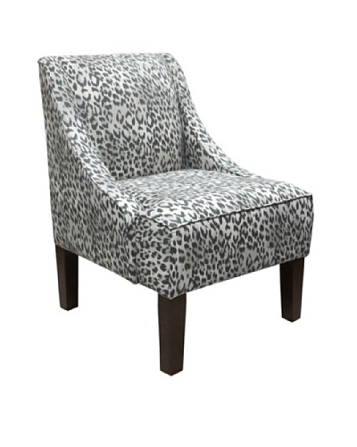 Skyline Swoop Arm Chair, Shadow