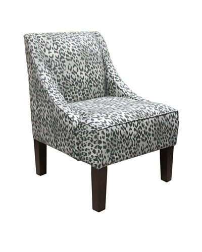 Skyline Swoop Arm Chair, Bosana Shadow