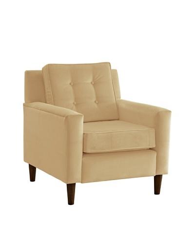 Skyline Furniture Armchair, Velvet Buckwheat