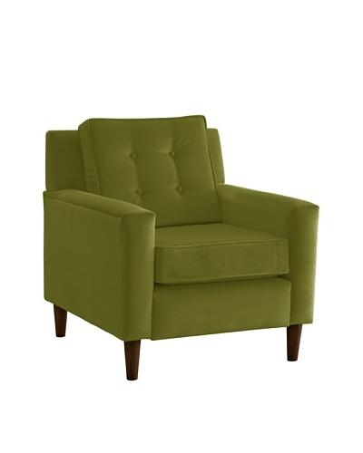 Skyline Furniture Armchair, Velvet Applegreen