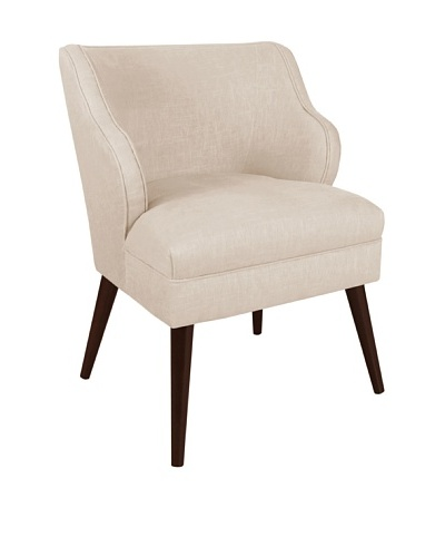 Skyline Furniture Modern Chair, Talc