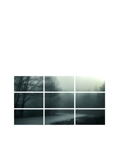 Art Addiction Foggy Dawn, Polyptych