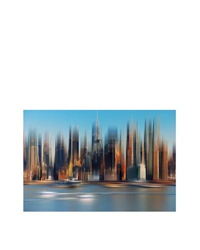 Art Addiction Color City Blur, Horizontal