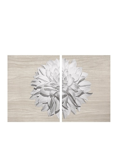 Art Addiction Set of 2 Pure Flower 24 x 36Acrylic Panels