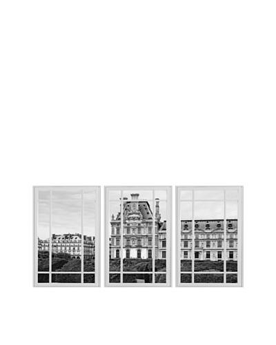 Art Addiction Window Pane, Triptych