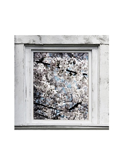 Art Addiction Spring Window I, Blue