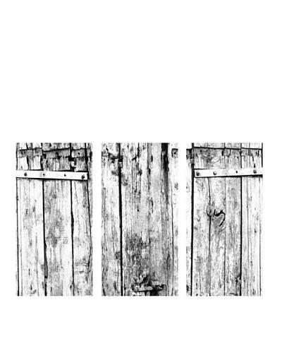"""Art Addiction Set of 3 Fence 36"""" x 18"""" Acrylic Panels"""