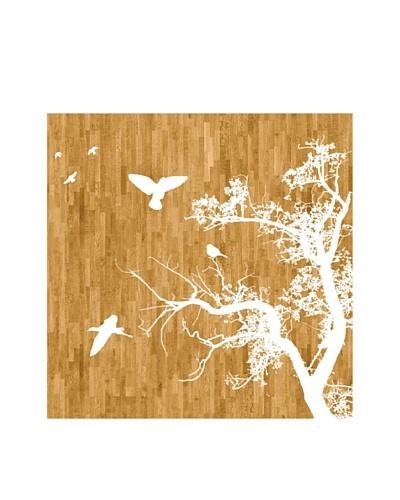 Art Addiction Tree/Birds, Wood II