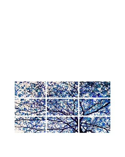 Art Addiction Blue Tree, Polyptych