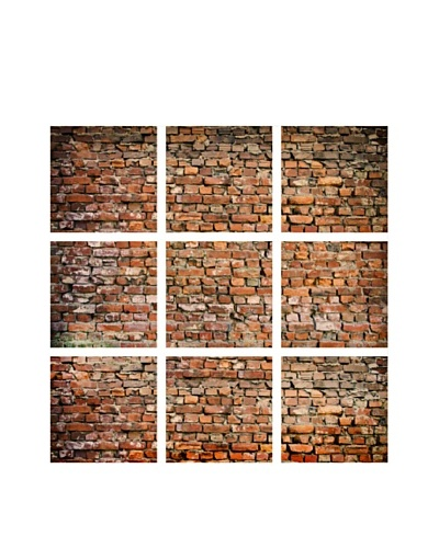 Art Addiction Brick Wall, Polyptych