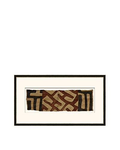 "Soicher Marin African Tribe ""African Kuba Cloth"" Artwork V"