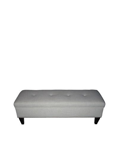Sole Designs Brooke Loft Tufted Storage Bench, MagnoliaAs You See