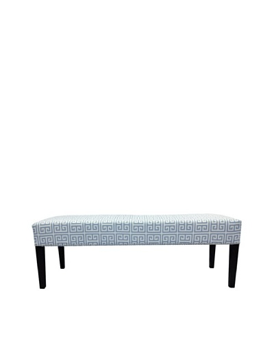 Sole Designs Melrose Chain Bench, Light Blue