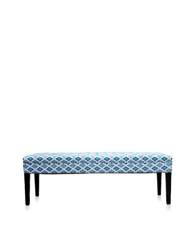 Sole Designs Nile Bench, Dia Blue