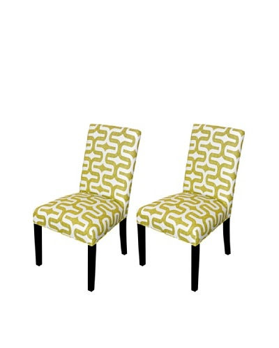 Sole Designs Embrace Artist Dining Chair, Green