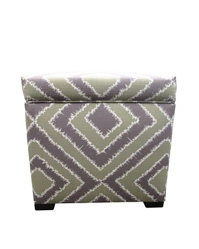 Sole Designs Tami Storage Ottoman, Nouveau AmethystAs You See
