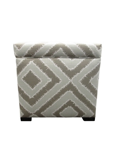Sole Designs Tami Storage Ottoman, Nouveau PlatinumAs You See