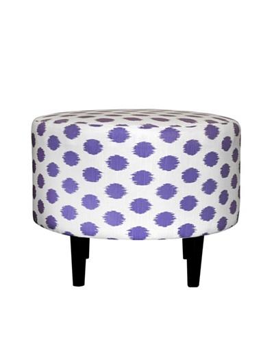 Sole Designs Sophia Jojo Round Ottoman, ThistleAs You See