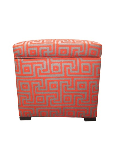 Sole Designs Tami Storage Ottoman, Greece Atomic
