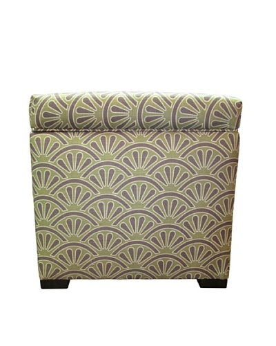 Sole Designs Tami Storage Ottoman, Bonjour Amethyst