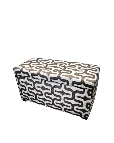 Sole Designs Angela Embrace Storage Trunk, BrownAs You See