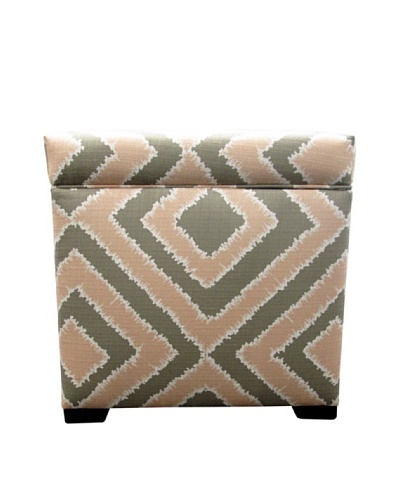 Sole Designs Tami Storage Ottoman, Nouveau BlushAs You See