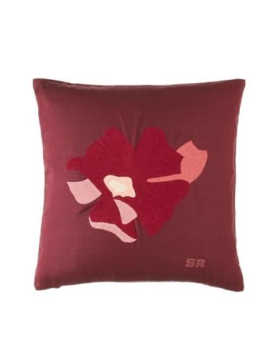 Sonia Rykiel Luxure Decorative Pillow, Lie de Vin, 14 x 14