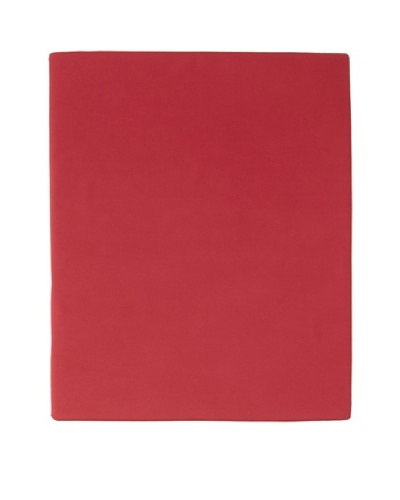Sonia Rykiel Maison Plain Griotte Fitted Sheet