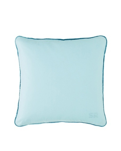 Sonia Rykiel Just For You Decorative Pillow, Emeraude (Light Green) , 35X35 cm