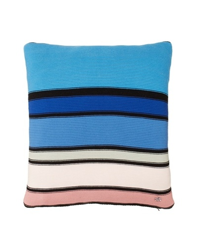 Sonia Rykiel Jacob Decorative Pillow, Bleu, 18 x 18