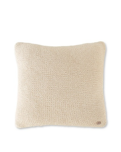 "Sonia Rykiel Prose Decorative Pillow Cover, Perle, 14"" x 14"""