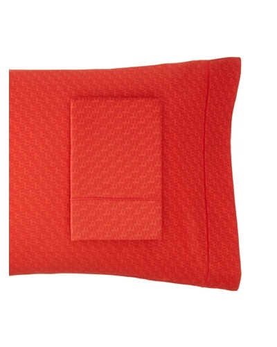 Sonia Rykiel Maison Set of 2 Bouquet Rouge Pillowcases