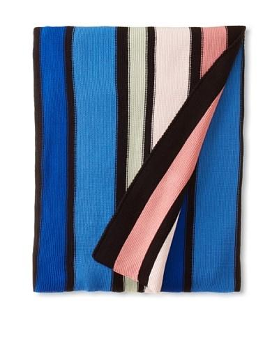 Sonia Rykiel Jacob Throw, Bleu, 59 x 59