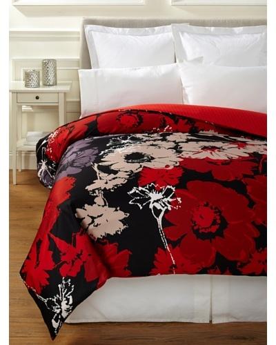Sonia Rykiel Maison Bouquet Rouge Duvet Cover