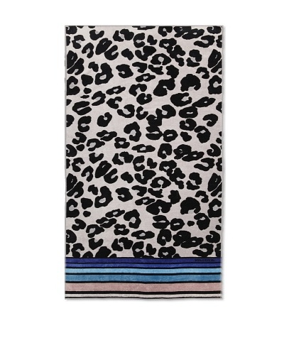 Sonia Rykiel Jacob Beach Towel, Bleu