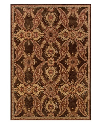 Langley Handspun Wool Rug [Cinnamon]