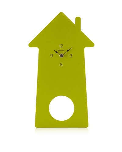 Diamantini & Domeniconi Home-Sweet-Home Clock, Green