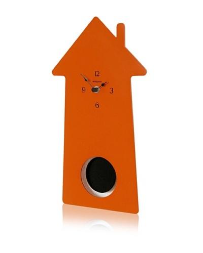 Diamantini & Domeniconi Home-Sweet-Home Clock, Orange