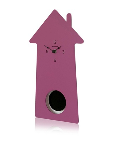 Diamantini & Domeniconi Home-Sweet-Home Clock, Purple