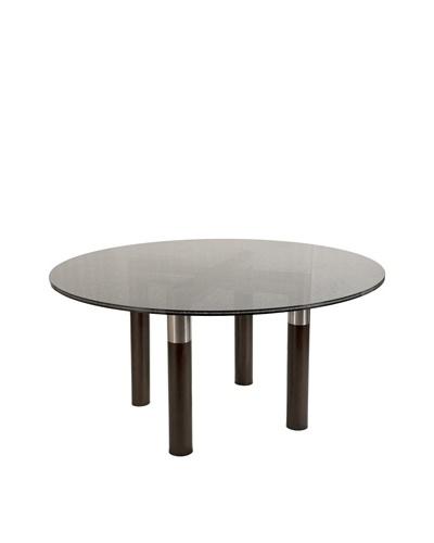 Star International Axis Dining Table, Dark Walnut