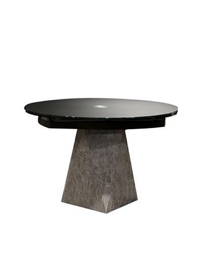 Star International Boa Extension Dining Table, Black/Grey/Tan