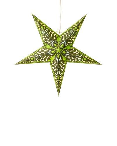 Starlightz Mercury Paper Light, Green