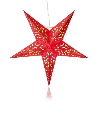 Starlightz Geeta Paper Light, Red