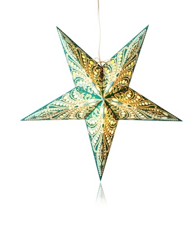 Starlightz Queen Paper Light, Fiji Turquoise